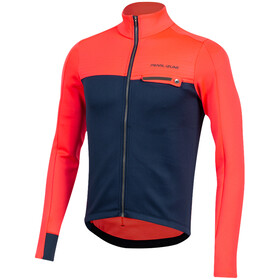 PEARL iZUMi Interval Thermal LS Jersey Men, atomic red/navy